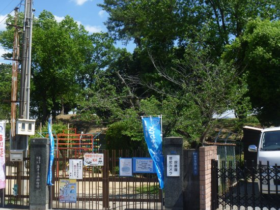 Fujiidera, Japan: 幼稚園の奥