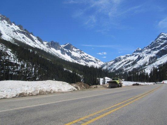 North Cascades National Park, WA: Plow at Washington pass