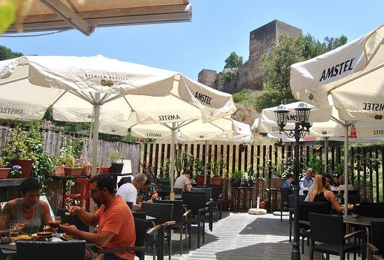 I Love Alcasa Bar Review Of Terraza De Alcasabar Malaga