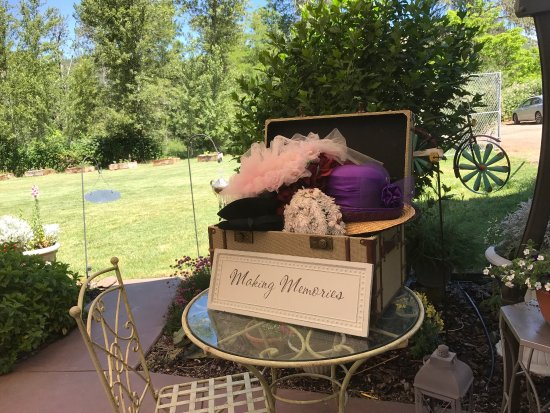 Gold Hill, OR: You have to do the garden high tea! Reasonable price and the garden is fabulous!!