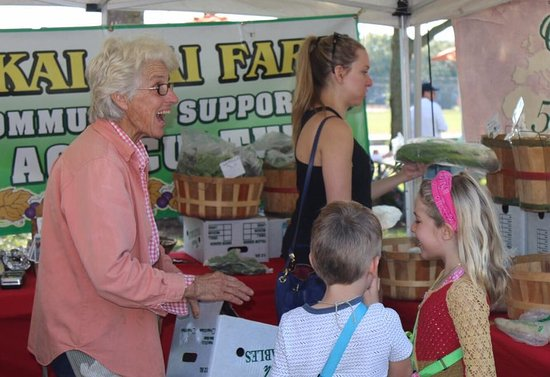 Indiantown, FL: Diane at the green market