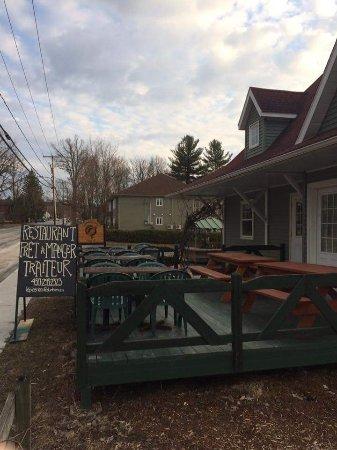 Dunham, Canada: Maintenant avec service de traiteur et prêt-à-manger sur place!!