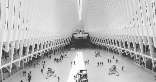 ‪World Trade Center Transportation Hub‬