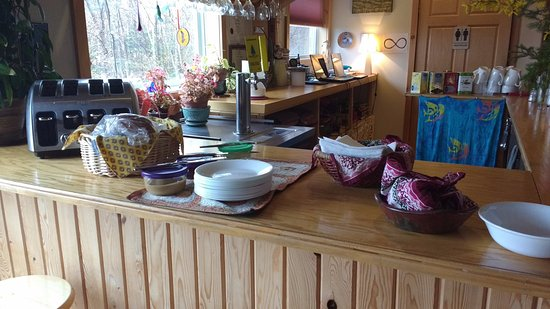"Cabot Shores Wilderness Resort: Picture 2/2 of their ""breakfast buffet"""