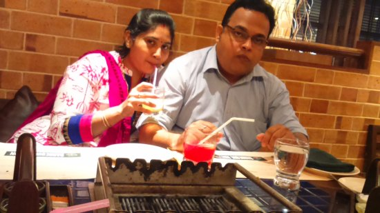 on occasion of my daughter s birthday picture of barbeque nation