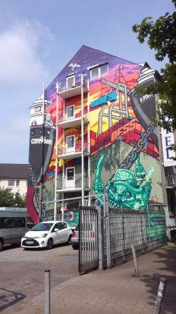 St. Pauli Office: Street art - St. Pauli