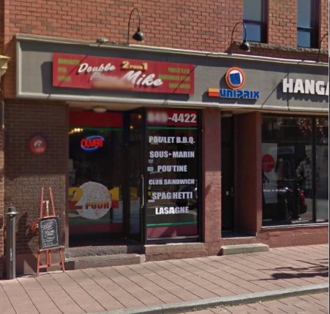 Coaticook, Canada : Pizza Mike 2 pour 1