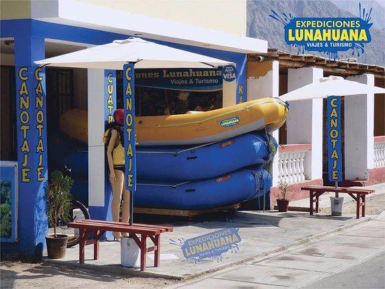 Lunahuana, Peru: Fachada,Expediciones Lunahuaná - Vive la Aventura
