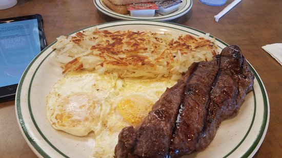Norms Restaurant Ny Steak And Eggs Very Tough