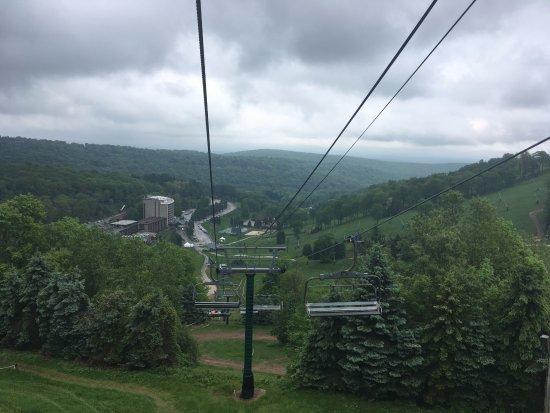 Champion, Pensilvania: Photo from the ski lift