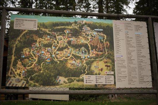 kolmården djurpark karta glöm inte kartan när ni går in..   Bild från Kolmårdens Djurpark  kolmården djurpark karta