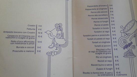 San Donnino, Italy: Trattoria Angiolino