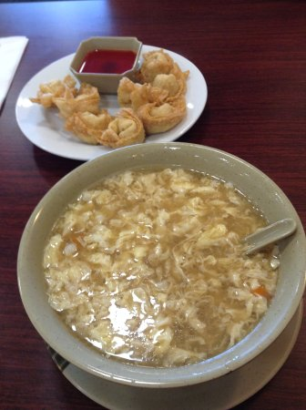 Benson, MN: Hot & Sour Soup,delicious, a meal all by itself!  Pork Wonton appetizer is a must!