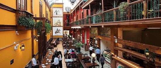 Lima Region, Peru: Restaurante de Pollo a la Brasa con base leña y parrillas.