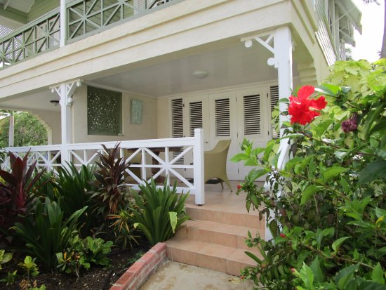 Little Good Harbour: Lovely verandah