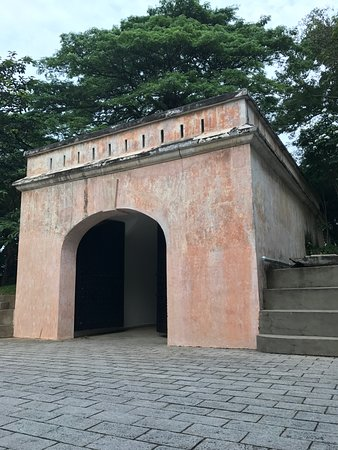 Hotel Fort Canning: This was a fort, after all