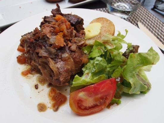 Lluc, Spain: lamb shank