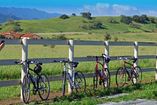 Solvang, CA: rolling hills of Santa Ynez wine country