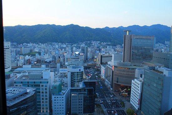 Kobe City Hall (Observation Deck) : Kobe at sunset