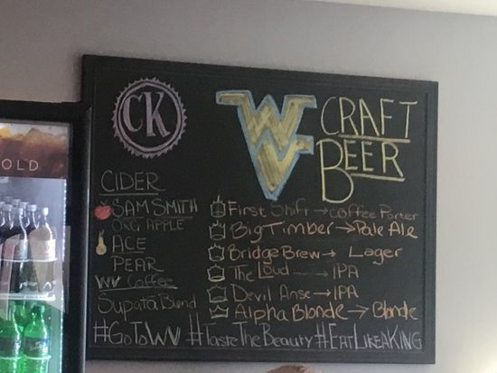 Craft Kings: Craft Beer Draft List (and other drinks) - rotates occasionally and stays as local as possible!
