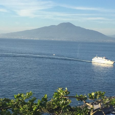 Province of Naples, Italy: Out table view