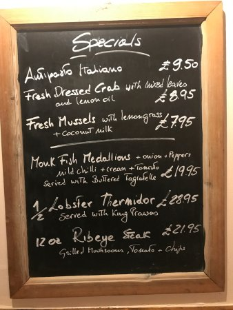 La Roma Restaurant: Fresh and exciting New Specials every week