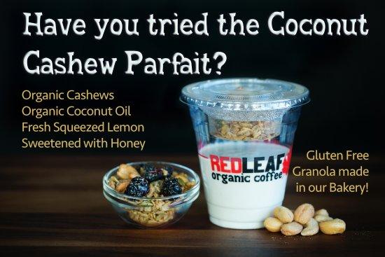 Woodland, WA: Coconut Cashew Parfait! Gluten free!