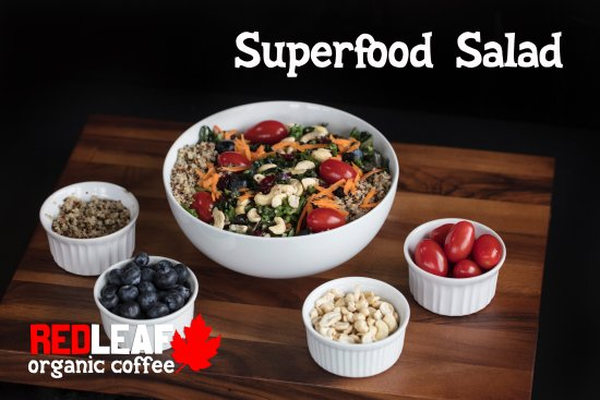 Woodland, WA: Our new superfood salad!