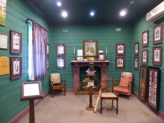Cootamundra, ออสเตรเลีย: The room in which Bradman was born