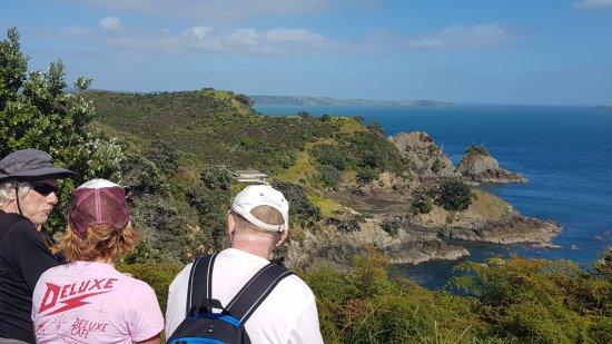 Waiheke-øya, New Zealand: Taking a break