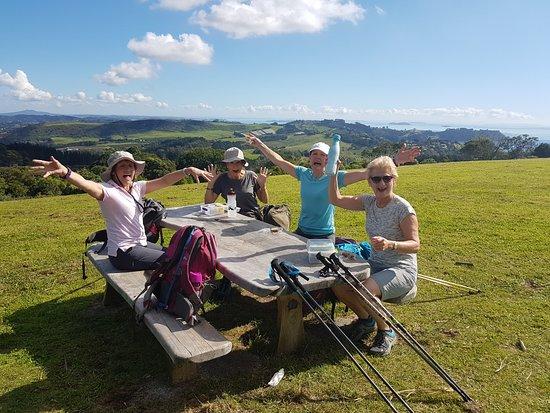 Waiheke-øya, New Zealand: Picnic at Pukeatua reserve