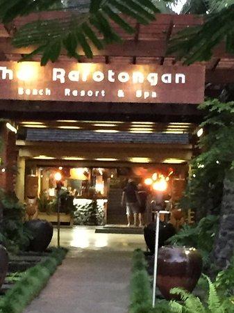 The Rarotongan Beach Resort & Spa: Reception area