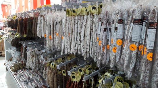 La Jonquera, Espanha: Supermercado del Shopping