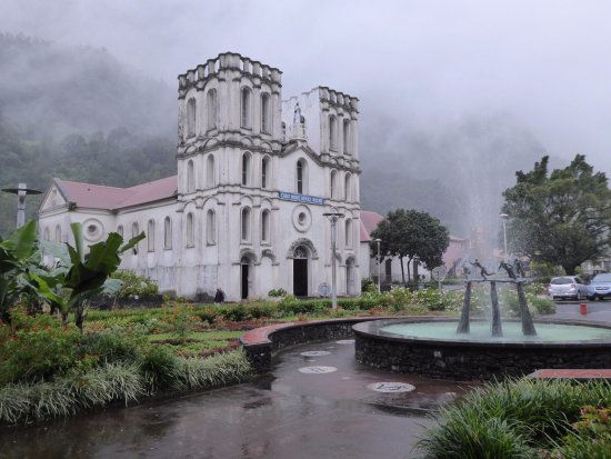 Salazie, Reunión: 教会の外観