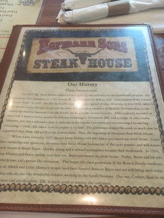 Hermann Sons Steak House: photo1.jpg