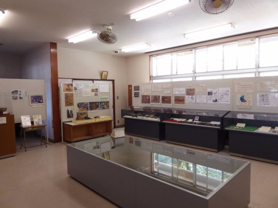 Oshima-gun Kikai-cho, Japón: 展示の様子