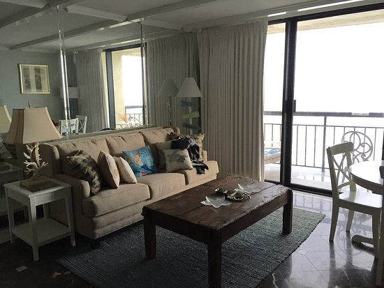 The San Luis Resort: Condo 1035, one bedroom with living room with sleeper sofa