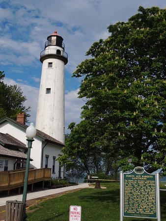 Port Hope, MI: Picture of Pt. Aux Barques Lighthouse on Lake Huron