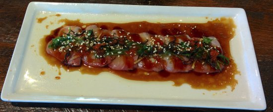 Sizzled Kampachi Sashimi - Picture of Eating House 1849 ...