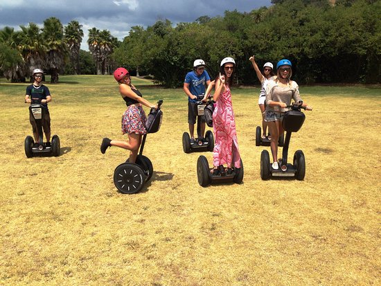 Devonport, Nueva Zelanda: FUN in the Sun for lovers of the Segway Glide