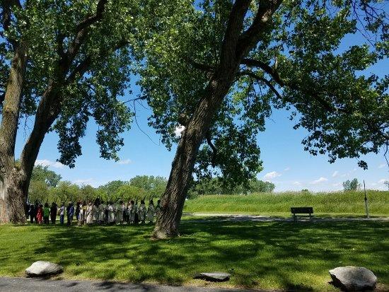 River Raisin National Battlefield Park : reenactment