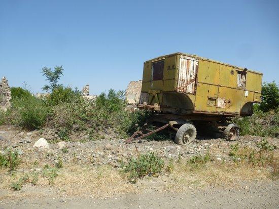 Nagorny Karabakh, Azerbejdżan: Remains of the war