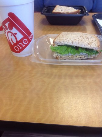 Casa Grande, AZ: Chicken salad sandwich