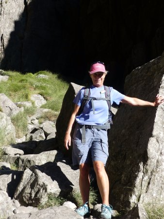 Table Mountain Walks: Our knowledgable, lovely guide: Margaret