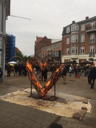 Hjorring, Dania: Kulturaften