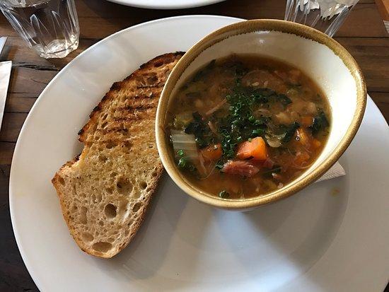 Medlow Bath, Australia: Special blackboard soup