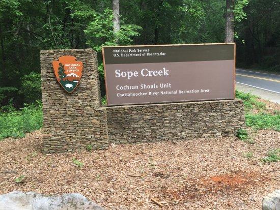 Marietta, GA: Pepper Mill Rd sign