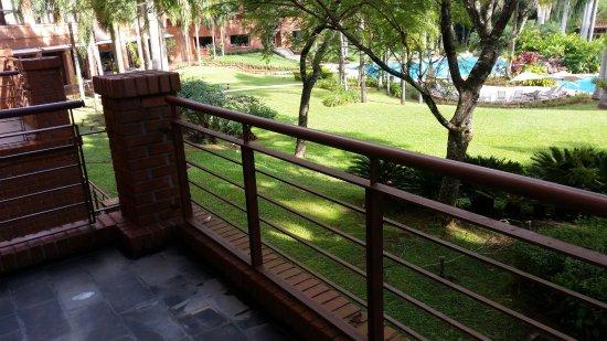 Iguazu Grand Resort, Spa & Casino: Balcón de la Junior suite king