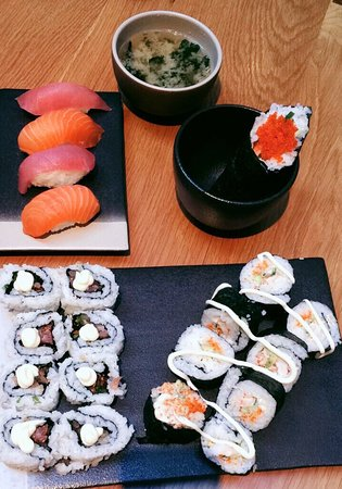 My sushi class experience