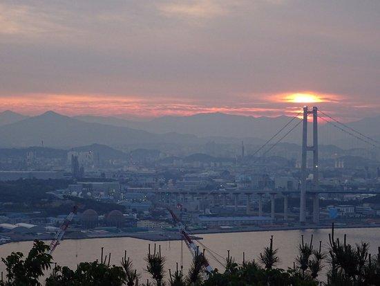 ulsan bridge observatory 蔚山 ulsan bridge observatoryの写真